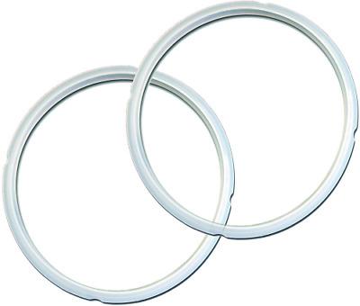$15.99 • Buy Genuine Pressure Cooker Parts & Accessories Sealing Ring 2 Pack Clear 5 6 Quart