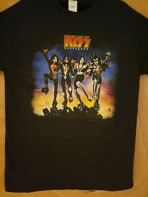 $18.99 • Buy Kiss T-shirt Brand New Extra Large---destroyer  Design