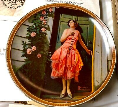 """$ CDN45.78 • Buy Norman Rockwell's """"Rediscovered Women"""" Art Series Set #1 Of 6 Decorative Plates"""