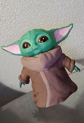 $25 • Buy Baby Yoda Bank. 5in. THE CHILD. Star Wars Fan Art. 3d Printed And Painted.