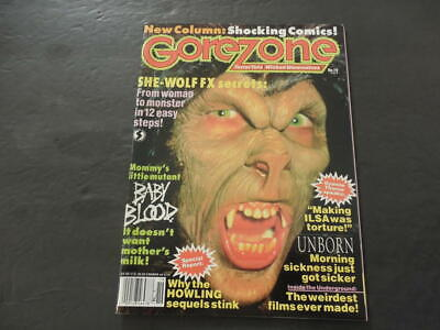 $15 • Buy GoreZone #19 Fall 1991 She-Wolf; Mommy's Little Mutant; Shocking Comic  ID:15799