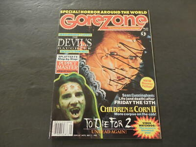 $15 • Buy GoreZone #21 Spring 1992 Puppet Master; Children Of The Corn III        ID:15801