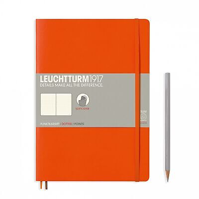 AU29.95 • Buy Leuchtturm1917 Notebook B5 Softcover Composition Dotted - Orange