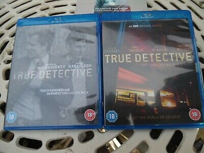 True Detective Season One And Two On Blu Ray • 19.99£