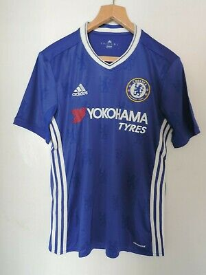 Adidas Chelsea FC Adidas Men Home Jersey AI7182 Blue Size Small DH004 BB 06 • 32.99£