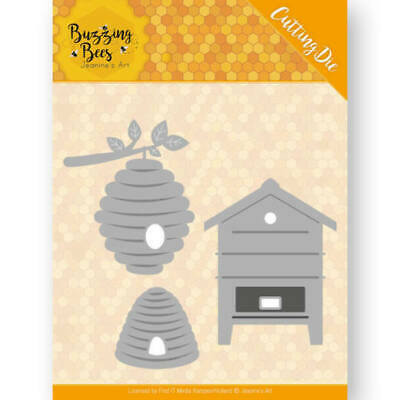 Find It Trading Honey Bee Hives 3 Piece Die Set Birthday New Home Card Making • 6.99£