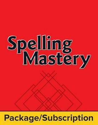 AU42.14 • Buy Spelling Mastery Level A Student Materials Package, 1-Year Subscription By McGra