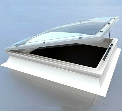 £369 • Buy Opening Roof Light, Dome Skylight Window For Flat Roofs, Mardome Trade Rooflight