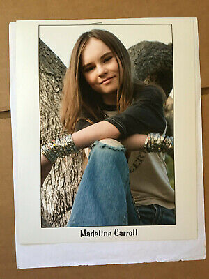 $ CDN16.95 • Buy Madeline Carroll #6 Vintage Headshot Photo With Credits Training & Skills