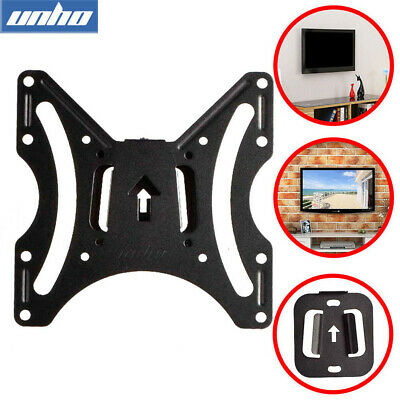 VESA 100x100 200X200mm TV Wall Mount Fixed Bracket LCD Monitor Holder 17-42  Tvs • 7.99£