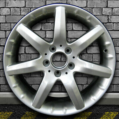 $194.97 • Buy Mirror Silver OEM Factory Front Wheel For 2001-2004 Mercedes CLK55 AMG - 17x7.5