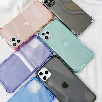 AU4.59 • Buy Drop Proof Transparent Case For IPhone 11 Pro XS Max XR 8 7 6 S Protective Cover