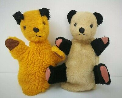 £11 • Buy Vintage Retro 1960's Chad Valley Sooty & Sweep Sue Hand Puppets