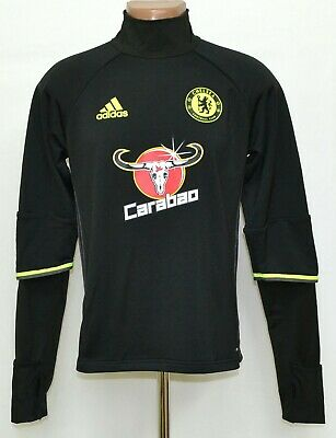 Chelsea London 2016/2017 Training Football Top Jersey Adidas Size S Adult • 37.99£