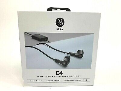 £137.76 • Buy B&O E4 Beoplay HEADPHONES Active NOISE CANCELLATION WIRED -Black