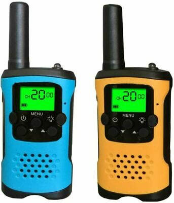 $ CDN48.76 • Buy Kid Walkie Talkies , 22 Channels 2 Way Radio 4 Miles Long Range Set Mini Walkie