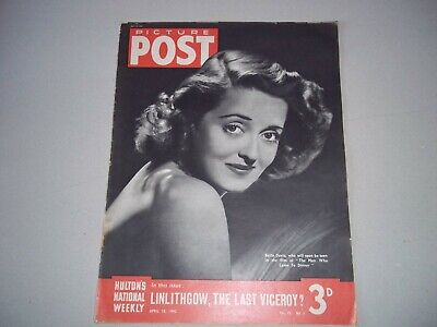 Picture Post Magazine 18 April 1942 Lord Linlithgow Viceroy Army Redcap • 6.50£