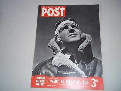 Picture Post Magazine 16 August 1941  Bombing The Scharnhorst , Napoleon Russia  • 6.50£