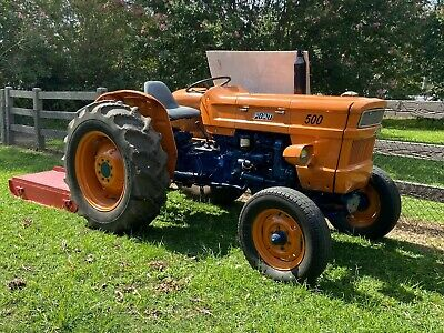 AU6500 • Buy Fiat 500 Tractor With Slasher