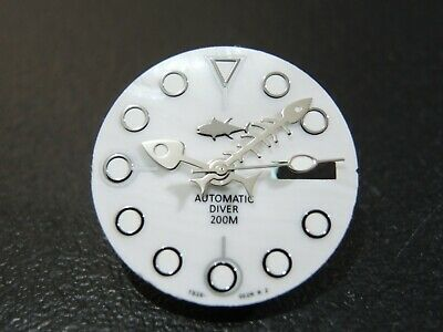$ CDN66.83 • Buy New Sharky Tuna Mop Finished Dial W/ Fish Bone Hands Will Fit Seiko Skx007 Diver