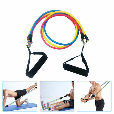 AU22.70 • Buy Heavy Duty Latex Resistance Bands Loop Exercise Sport Fitness Tube Home Yoga Gym