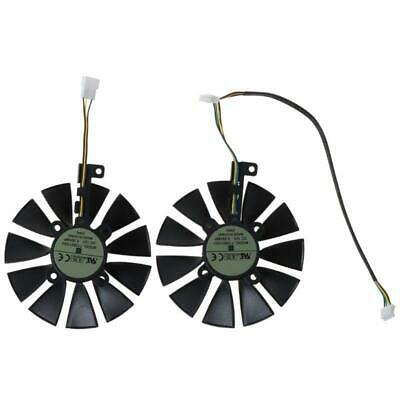AU23.76 • Buy 87MM Cooling Fan Cooler With 11 Blades For A-SUS GTX1080TI P11G RX470 Video Card