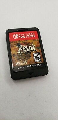$45.01 • Buy Legend Of Zelda Breath Of The Wild Nintendo Switch Cartridge Only Free Shipping!
