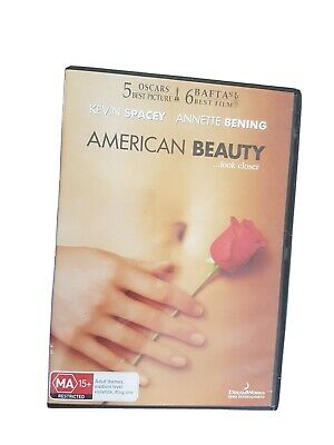 AU7 • Buy  AMERICAN BEAUTY -   Kevin Spacey, Annette Bening, Thora Birch   - DVD