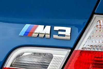AU13.99 • Buy M3 Sport Chrome BMW Car Badge 3D Self-adhesive Premium Logo Emblem M