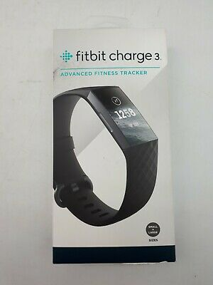 $ CDN146.88 • Buy Fit Bit Charge 3 Fitness Tracker: Black Small & Large Band (CD150)