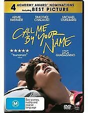 AU14 • Buy Call Me By Your Name Gay Themed DVD Pre Owned