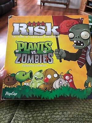 $27 • Buy Rare Retired Risk Plants Vs Zombies Collector's Edition Hasbro 2013 Complete