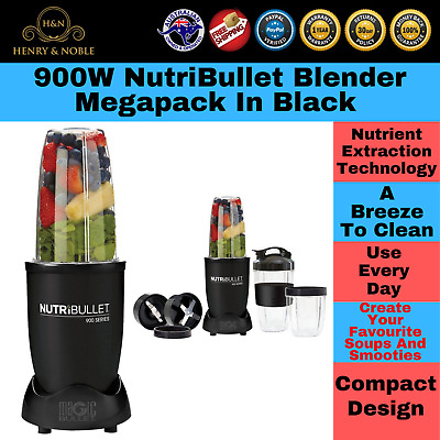 AU129.88 • Buy Nutribullet 900W Nutrition Extractor Juicer Blender Fruit & Vegetable Smoothies