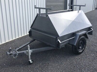 AU850 • Buy 6X4 Tradesman Trailer With Removable Top. Good Condition
