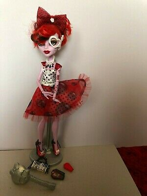 Monster High Operetta Dot Dead Gorgeous With Accessories Complete. • 20£