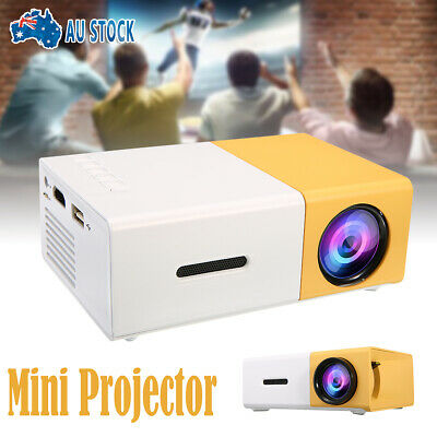 AU52.99 • Buy Portable Pocket Mini LED Projector 3DHD 1080P Multimedia Home Cinema HDMI YG300