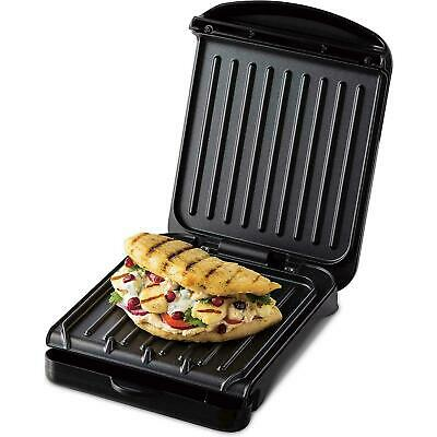 £23.66 • Buy George Foreman Small Fit Grill Griddle Hot Plate Toastie Maker Machine Non-Stick