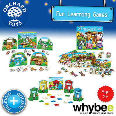 AU15.75 • Buy Orchard Toys Age 2yrs+ Fun Learning Games Puzzles Educational For Kids Children