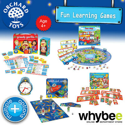 AU11.90 • Buy Orchard Toys Age 4yrs+ Fun Learning Games Puzzles Educational For Kids Children