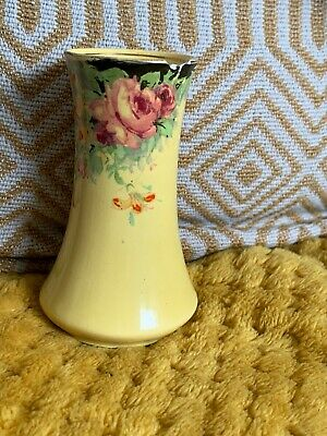 $ CDN2.65 • Buy RARE ROYAL WINTON GRIMWADES CHINTZ 'MARGARET ROSE' SMALL VASE C.1930's