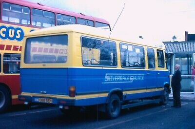 Original Bus Colourslide,silverdale Shuttle Potteries Newcastle Mercedes Minibus • 0.35£