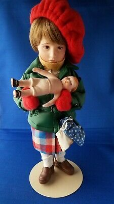 $15 • Buy Norman Rockwell Collector's Edition Porcelain Character Doll Mimi 11 1/2  Excl