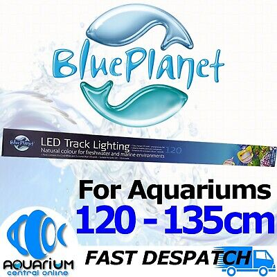AU129.45 • Buy Blue Planet Aquarium Fish Tank Light LED Track Lighting 10 POD 4ft 120cm