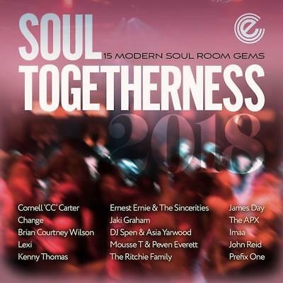 SOUL TOGETHERNESS 2018 - 15 Modern Soul Room Gems NEW & SEALED CD (EXPANSION) • 13.99£