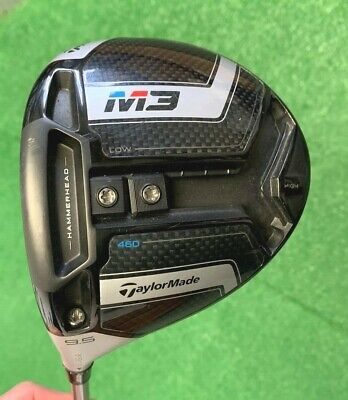 $ CDN221.50 • Buy TaylorMade M3 460 Driver Golf Club 9.5 USED Adjustable Regular LEFT HAND 45.5