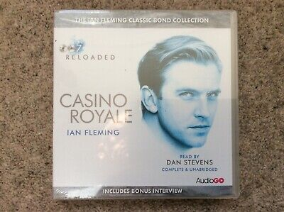 Ian Fleming, James Bond Audio CD. New/Sealed. Casino Royale • 10.49£