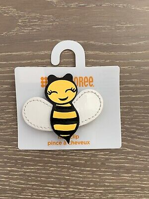 $7.40 • Buy Gymboree Bumble Bee Chic Line Barrette/Clip NWT Yellow Snap Vintage Hive VHTF
