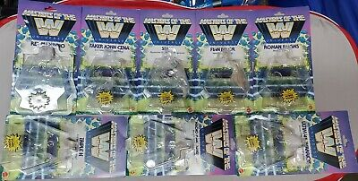$40 • Buy WWE Masters Of The Universe Complete Wave 1 And Wave 2 Used Card Back