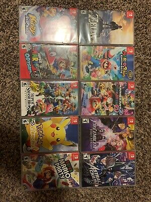 $390 • Buy Nintendo Switch Games Lot