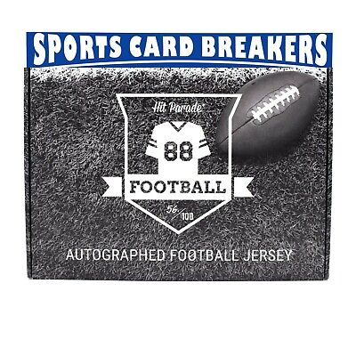 $8 • Buy RANDOM TEAM SPOT 2019 Series 11 HIT PARADE FOOTBALL JERSEY (1)BOX BREAK #02